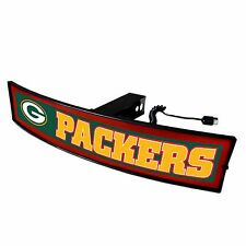 Green Bay Packers Light Up Hitch Cover - LED Illuminated Trailer Hitch Cover
