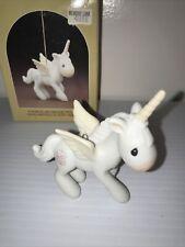 Precious Moments Unicorn / Pegasus Ornament Enesco E-2371
