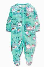 Next Strampler Schlafanzug Overall Pyjama Einteiler Blumenmuster Vögel Gr 56-86