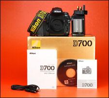 Nikon D700 12.1 MP DSLR Camera - Body Only + Nikon Battery + Nikon Charger + Box