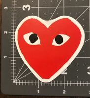 Heart With Eyes Adult Humor Skateboard /Laptop/ Guitar Decal Sticker