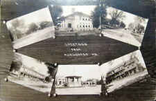 Mukwonago Wisconsin Post Card Real Photo
