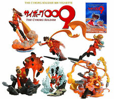 K&M Kaiyodo Japan Animate The Cyborg Soldier 009 Set of 6 Figure