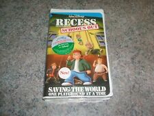 VHS SEALED#12237 with DISNEY'S wrapping RECESS SCHOOL'S OUT