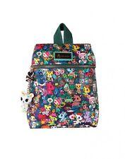Tokidoki Rainforest Collection Anime Jungle Small Bookbag Backpack TK1702303