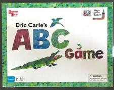 Eric Carle's ABC Board Game Animals Upper Lower Letters Alphabet Spinner Age 3+