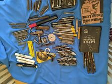Machinist Tool Box Clean Out Mixed Lot Metal Working Tools 24 Pounds!