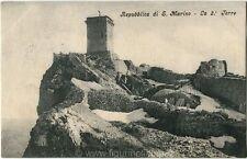 Primi anni 1900 Rep. San Marino - La Seconda Torre S. Marino - FP B/N VG