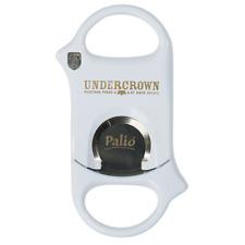 Palio Cigar Cutter WHITE UNDERCROWN logo! Surgical Steel Blades! New! SAVE 74%!