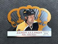 2000-01 PACIFIC CROWN ROYALE JASON ALLISON RARE PREMIERE DATE #ed 70/80