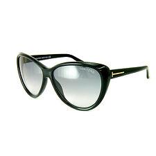 TOM FORD Damen Sonnenbrille MALIN FT0230S 01B Schwarz / Grau verlauf NEU + Etui