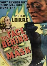 The Face Behind the Mask (1941) Peter Lorre- Rare Classic
