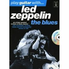 34;Led Zeppelin34;: The Blues (Play Guitar with.), Led Zeppelin (Artist, New, Pa