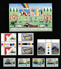 Norfolk Island Stamps, Miniature Sheets, Aerogrammes  and Covers