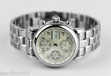 Montblanc 5222 XL Automatic Chronograph Watch Steel Bracelet Swiss GREAT DEAL!