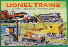 Original 1956 Lionel Train Catalog