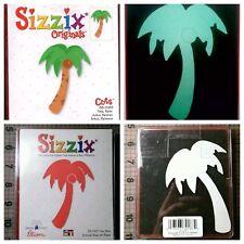 Sizzix Die Palm Tree Beach Ocean Scrapbook Diecut CardMaking Crafts Vacation NEW