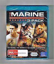 The Marine / The Marine 2 / The Marine 3 - Homefront (3-Movies) Blu-ray New Seal