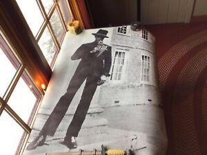 1968 Original Vintage Calvin Lockhart  Personality Poster.
