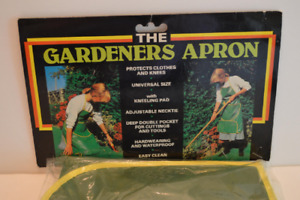 Vintage The Gardeners Apron NEVER BEEN OPENED!!!