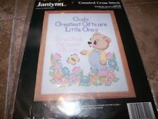 Janlynn COUNTRY BEAR SAMPLER  NIP Counted Cross Stitch Kit!