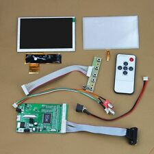 "5"" 5.0 inch 800x480 TFT LCD Display + Touch Screen + Controller Board(VGA+2AV)"