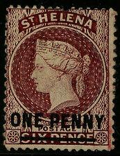 St Helena   1882   Scott # 25   UNUSED