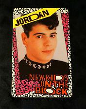 New Kids On The Block Jordan Knight Fan Club Card Concert Osb Nkotb Picture Pic