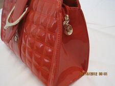 Women Fashion Bag B- Red Leather Handbag/Purse Bag,
