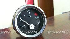 3 NOS Electrical Water Temperature Gauge 40-120 º C for Car, Trucks ,tractors