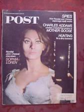 Saturday Evening POST October 21 1967 SOPHIA LOREN CHARLES ADDAMS