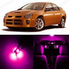 8 x Pink LED Interior Light Package Kit For Dodge Neon 2000 - 2005 + Pry TOOL