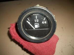 Fiat 124 Spider Fuel Gas Gauge Instrument Cluster OEM USED Veglia Borletti