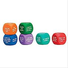 Learning Resources Writing Prompt Cubes, New, Free Shipping