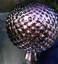 Silber Kugel Rosenkugel Glas Antikfinish 20cm Gartenkugel Bauernsilber Jumbo