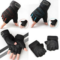 Weight lifting Gym Half Finger Gloves Training Fitness Wrist Wrap Exercise Sport