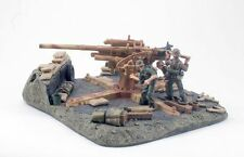 King & Country WWII German Waffen SS 88mm Flak 36/37 And Crew #WS020