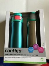 Contigo Autoseal Trainer Water Bottles, 20 Ounce 18 Hours Cold