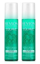 2x 200 ml - Revlon Equave Instant Beauty Volumizing Detangling Conditioner NEU