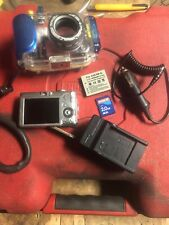 Canon Powershot SD600 & WP-DC4 Underwater Camera Housing W/ Bag Charger Battery