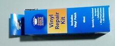 "Vinyl Swimming pool Patch Kit ""wet"" or dry 130 inch², 60ml. adhesive, dauber"