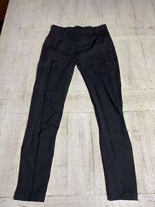 Womens Lululemon Leggings Black Size 10 Ins 27