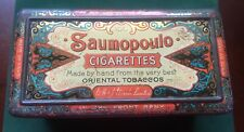 Very Rare Woods 'Saumopoulo' Cigarettes (100) Tin, c1900s