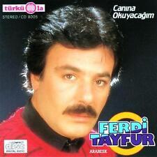 Ferdi Tayfur Canina Okuyacagim Türkische Arabesk Musik