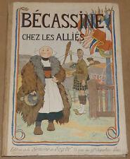Becassine -3- / Bécassine chez les allies / Re 1919 /  BE+