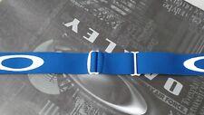 Oakley SNOW SPLICE Goggles Replacement Helmet Strap Kit BLUE+STRAP MOUNTS (PAIR)