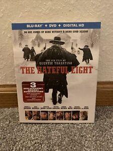THE HATEFUL EIGHT BLU-RAY/DVD, NO DIGITAL. W/SLIPCOVER **MINT**