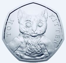 2017 50p COIN NEW Tom Kitten Fifty Pence UNCIRCULATED NEW
