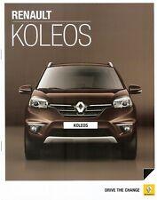 Prospekt / Brochure Renault Koleos 07/2013