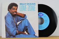"7"" - BILLY OCEAN - Love Zone - JIVE 1986"
